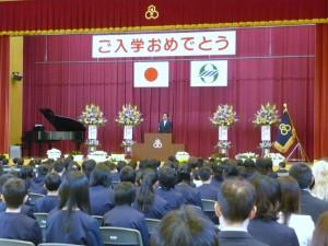 入学式藤井市長挨拶